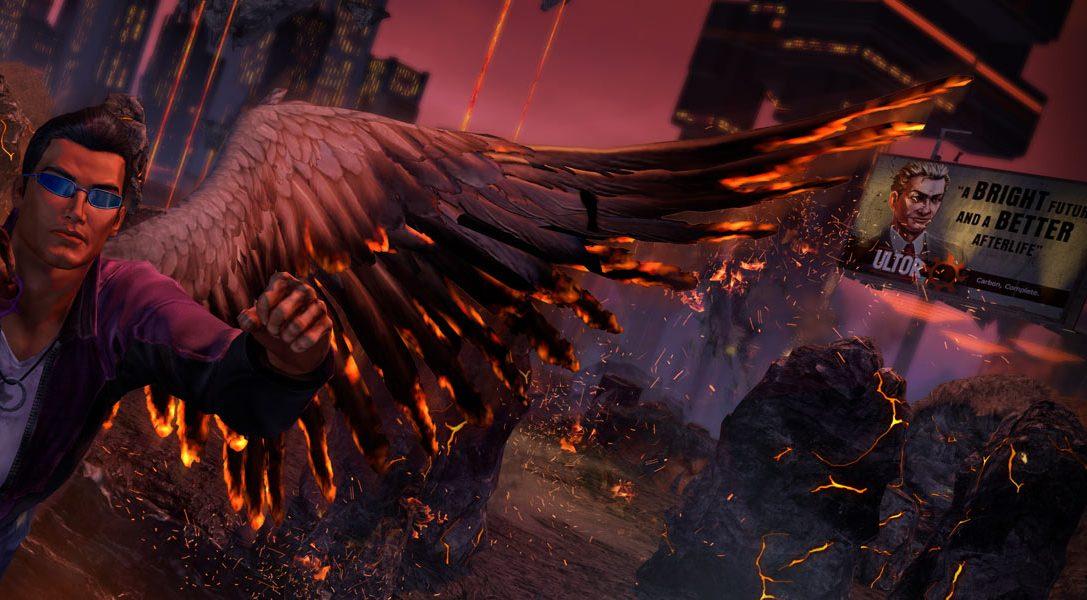 Présentation des Sept armes capitales de Saints Row: Gat out of Hell