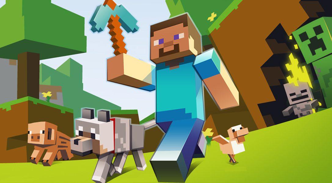 Minecraft sera disponible le 15 octobre sur PS Vita, voici les détails du Cross-Buy