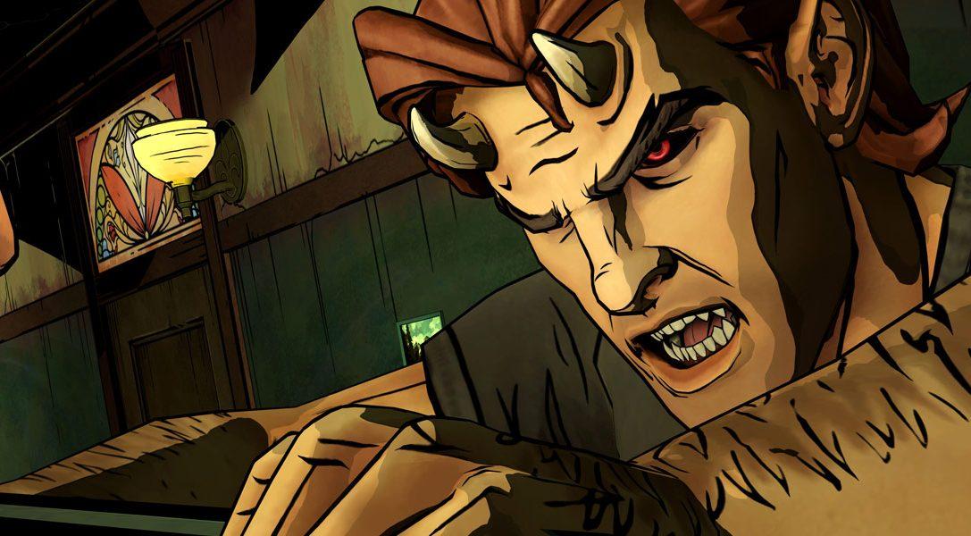 The Wolf Among Us sortira en version boîte sur PS4, PS3 et PS Vita le mois prochain