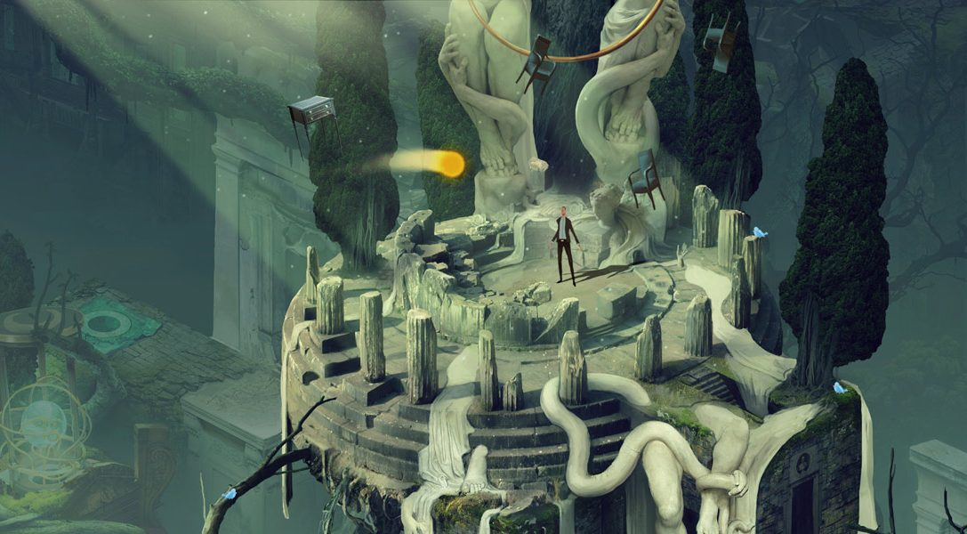 Nouvelle vidéo de Pavilion, jeu d'aventure et de réflexion saisissant à la «quatrième personne»