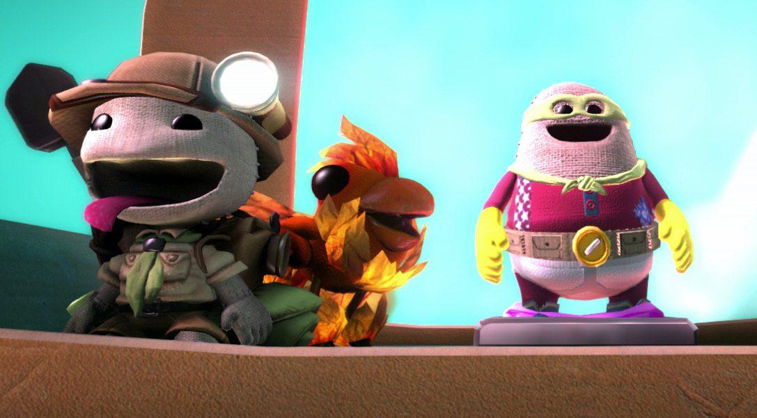 Pumbaa et Dr. Cortex dans le casting des voix de LittleBigPlanet 3