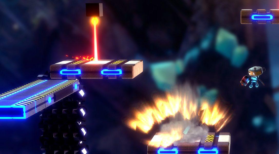 Tinertia : un jeu de plates-formes basé sur le saut au lance-roquettes