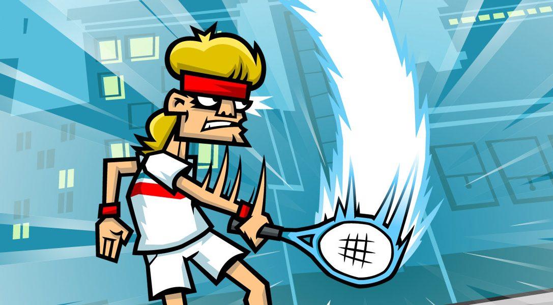 Servez la justice dans Tennis in the Face, dispo sur PS4 aujourd'hui