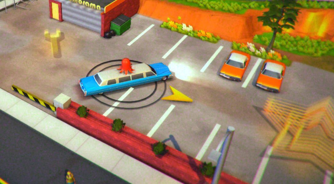 Roundabout, un jeu inspiré des séries B sur PS4 et PS Vita