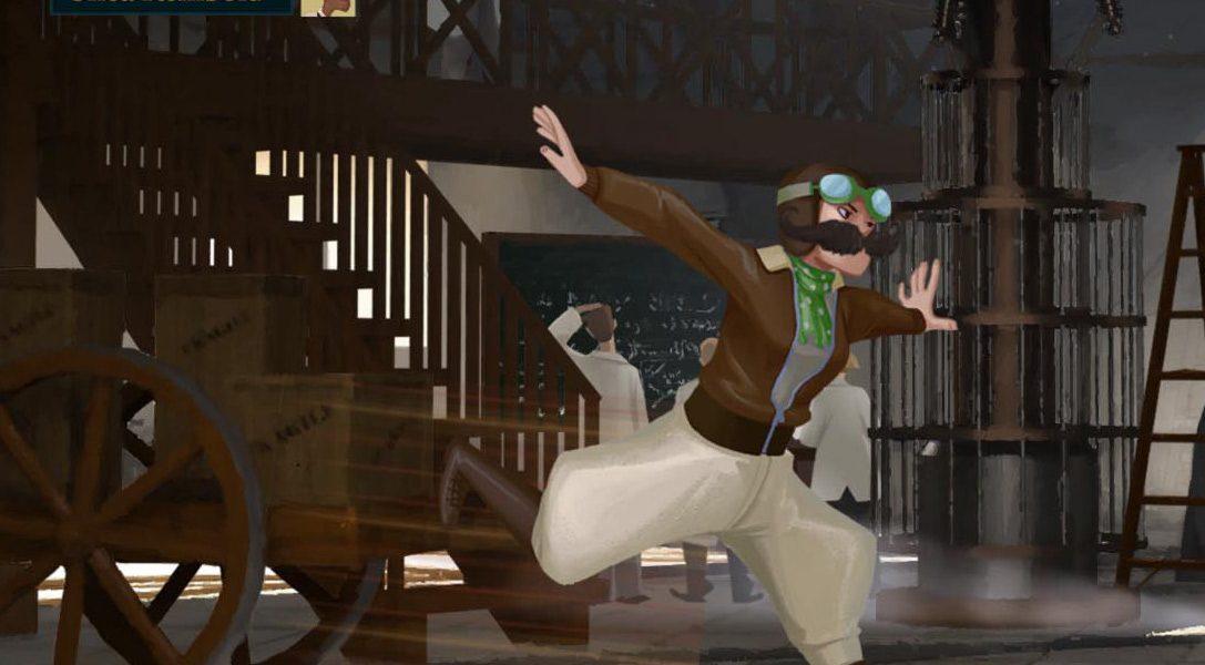 Speakeasy, un 'pierre-feuille-ciseaux' orienté compétition sur PS4