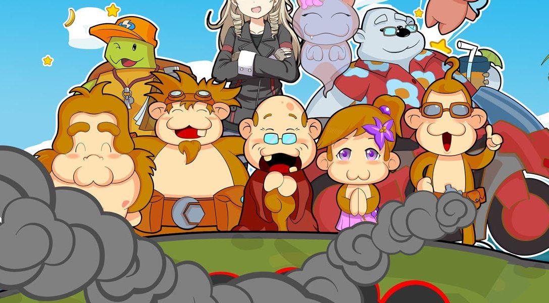 Baboon!, un jeu de réflexion/plate-forme, arrive bientôt sur PS Vita