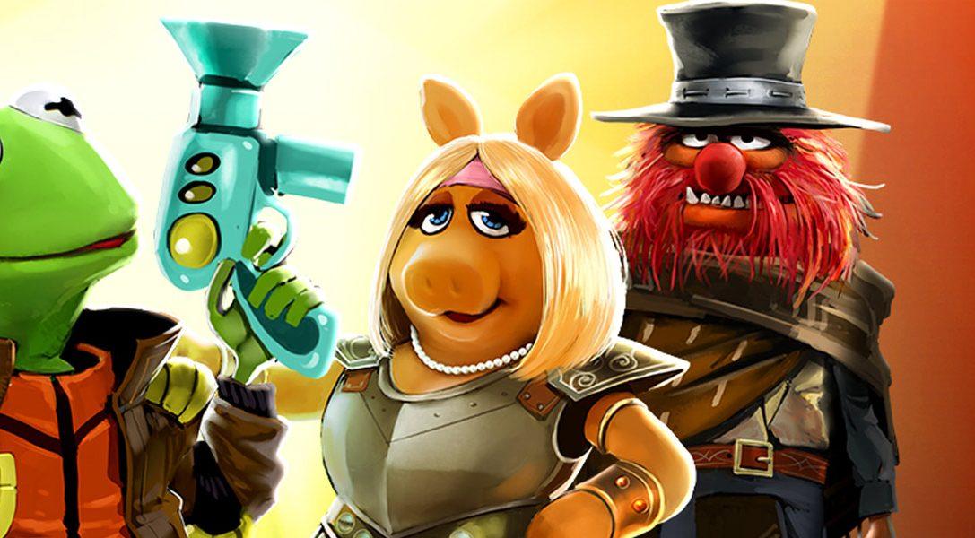 Les Muppets Movie Adventures est disponible sur PS Vita