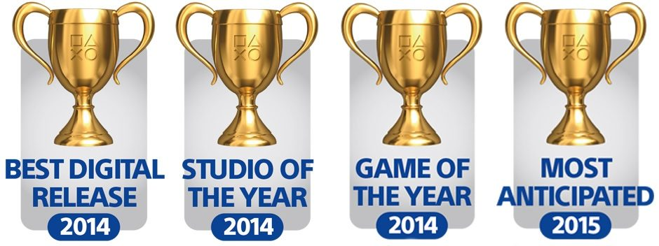 Vainqueurs des PlayStation Blog 2014 'Game of the Year Awards'