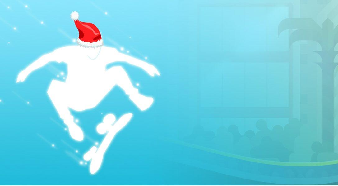Joyeuses fêtes de la part de Roll7, développeurs de OlliOlli