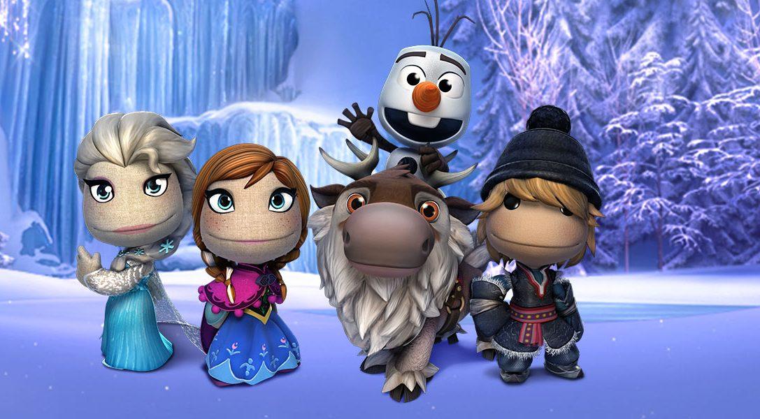 Le pack de tenues La Reine des Neiges de Disney pour LittleBigPlanet enfin dévoilé