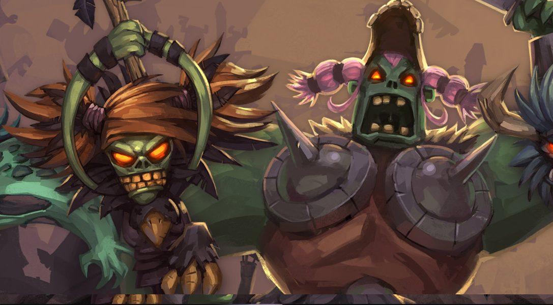 Découvrez Zombie Vikings, un jeu de baston déjanté sur PS4
