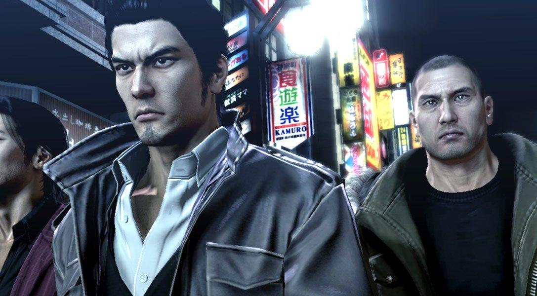Yakuza 5 arrivera en France (et en Europe) en 2015