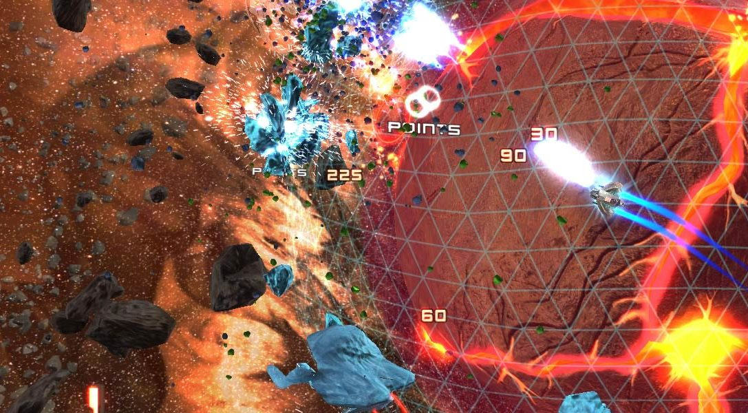 Super Stardust Ultra prévu sur PlayStation 4