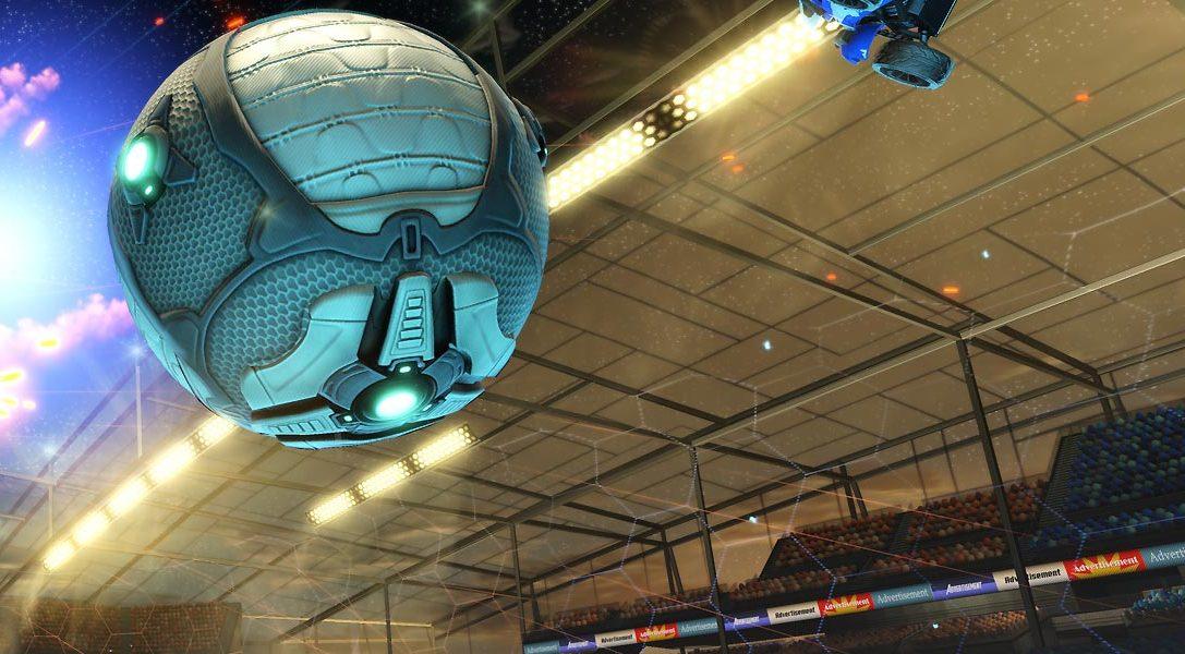 Rocket League annoncé sur PlayStation 4