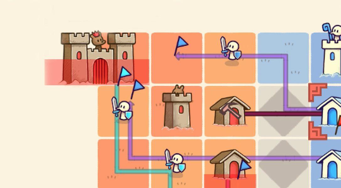 Le créateur de Threes nous livre son jeu de stratégie turbo Close Castles