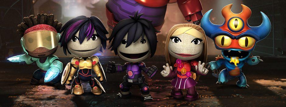 Les Nouveaux Héros de Disney débarquent dans LittleBigPlanet 3