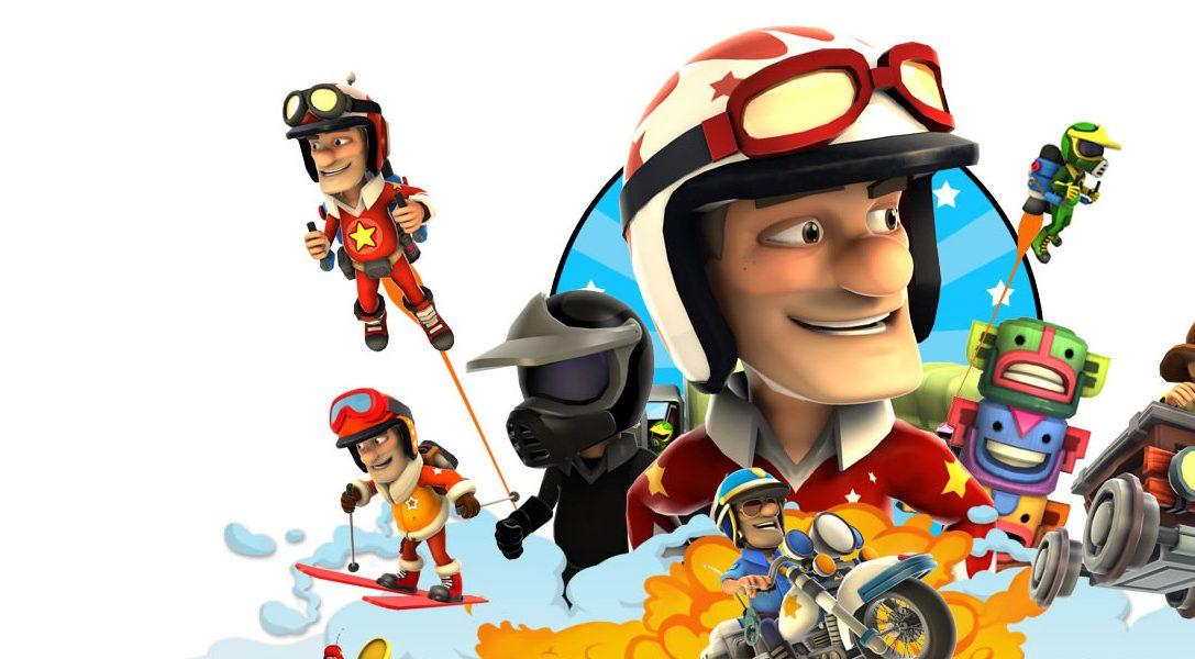 Joe Danger 2: The Movie sort sur PS Vita la semaine prochaine