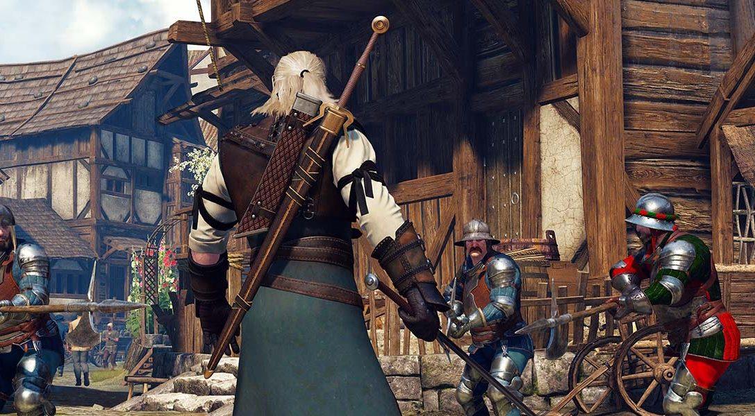 Premier aperçu du monde sombre et violent de The Witcher 3: Wild Hunt sur PS4