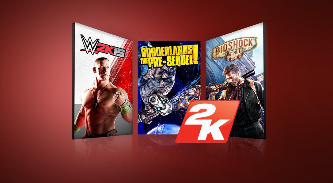Nouvelles promotions PlayStation Store : prix minis sur les jeux 2K Games et des indies