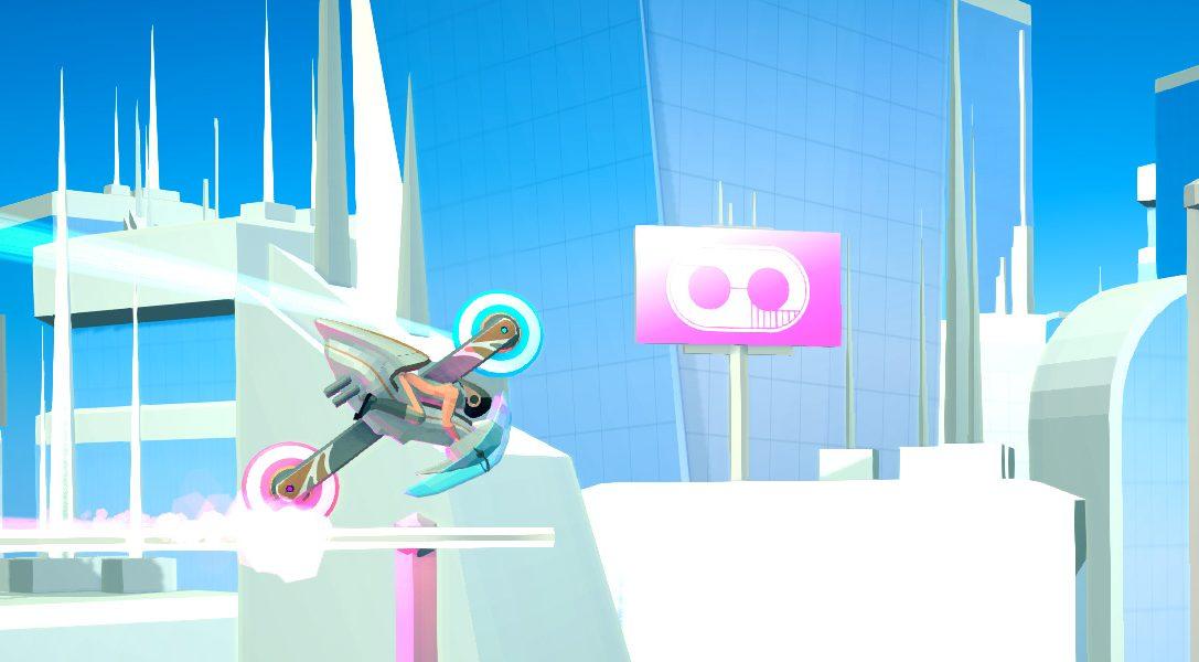FutureGrind sur PS4 : vitesse et style en deux roues