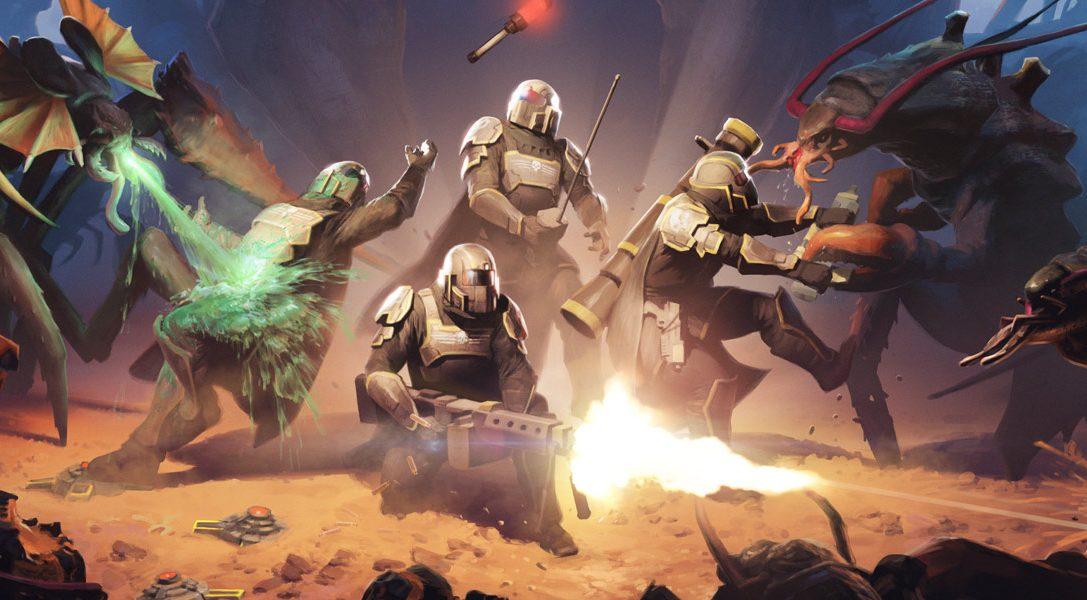 La guerre est déclarée ! Helldivers arrive sur PS4, PS3 et PS Vita le mois prochain