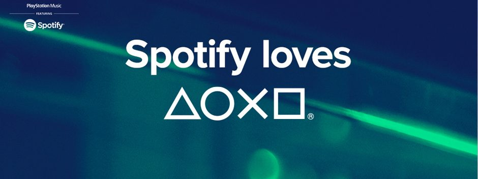Spotify arrive sur PlayStation Music aujourd'hui