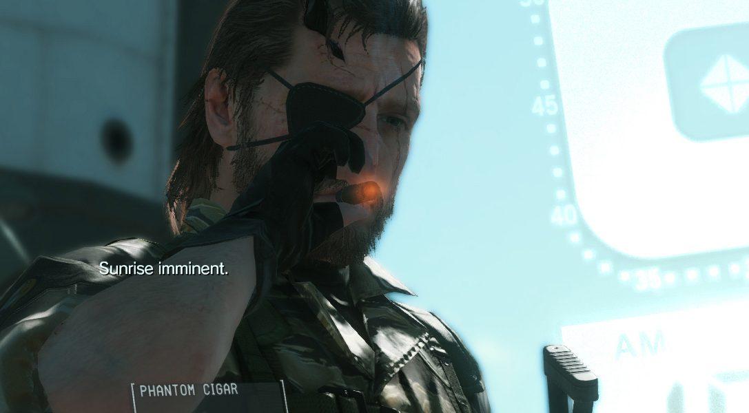 Metal Gear Solid V : The Phantom Pain, date de sortie et édition collector
