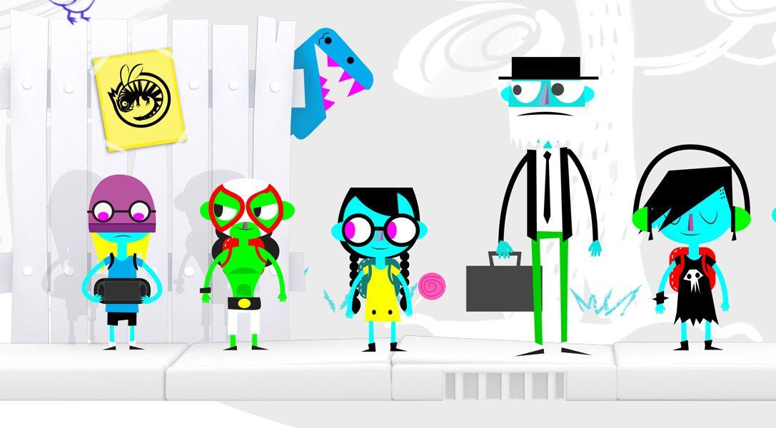 Le jeu de plateforme/réflexion décalé MonsterBag arrive sur PS Vita le mois prochain