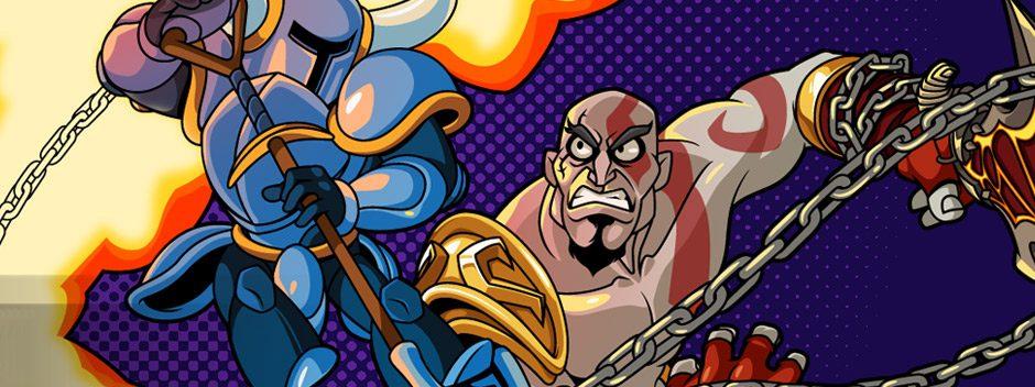 Un premier aperçu de Kratos en action dans Shovel Knight