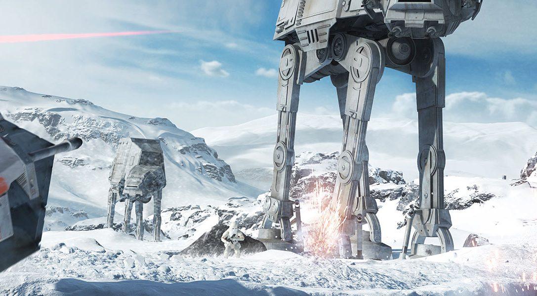 La toute première bande-annonce de Star Wars Battlefront est disponible
