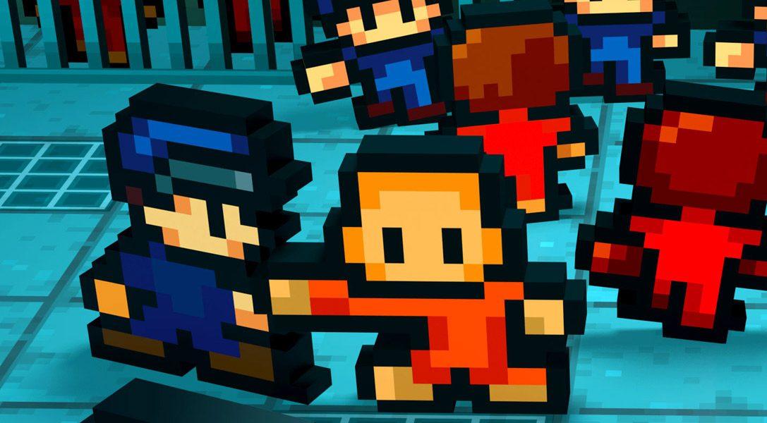 Le jeu de stratégie tant acclamé The Escapists arrive bientôt sur PS4