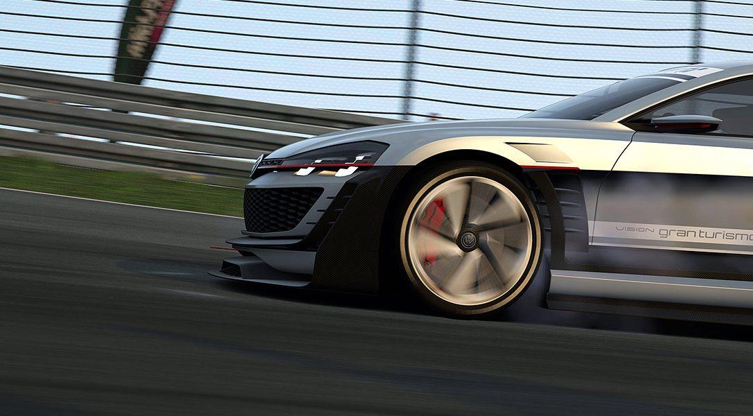 La mise à jour de Gran Turismo 6 ajoute une nouvelle voiture Vision GT de Volkswagen