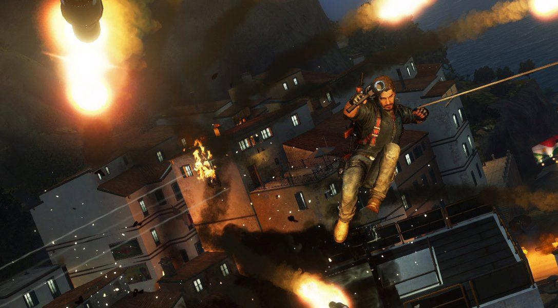 Découvrez le tout premier trailer de gameplay de  Just Cause 3 !