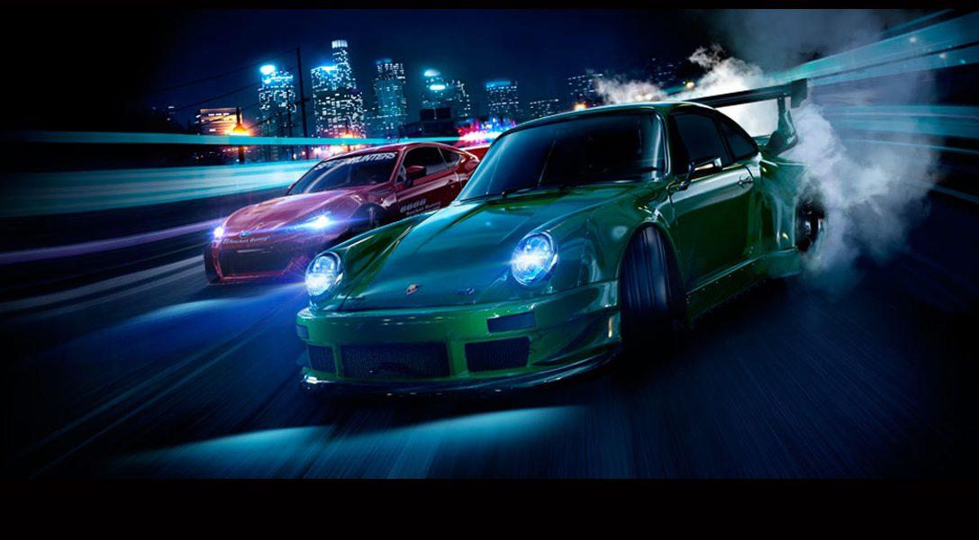 Need for Speed fait son retour sur PlayStation 4 cet automne