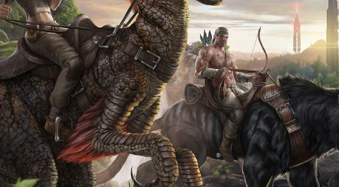 Chevauchez des dinosaures dans ARK: Survival Evolved, bientôt sur PS4