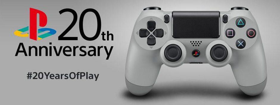 Une Dualshock 4 20ème anniversaire sortira en septembre