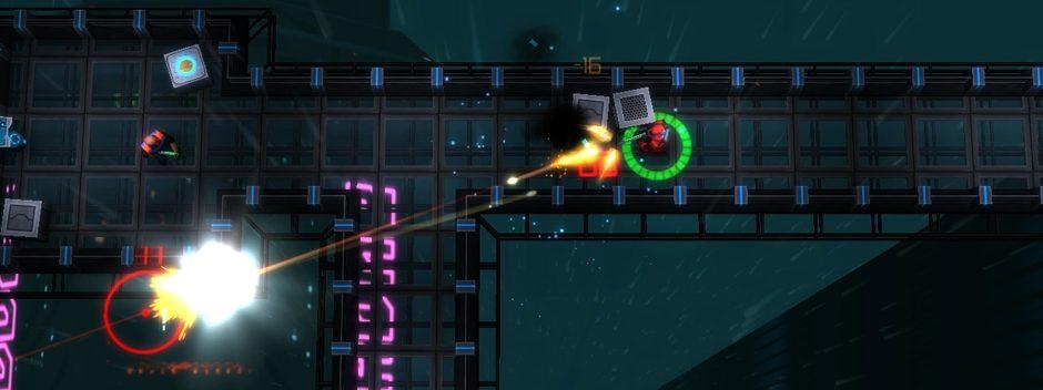 Le shooter cyberpunk en vue aérienne Neonchrome annoncé sur PS4