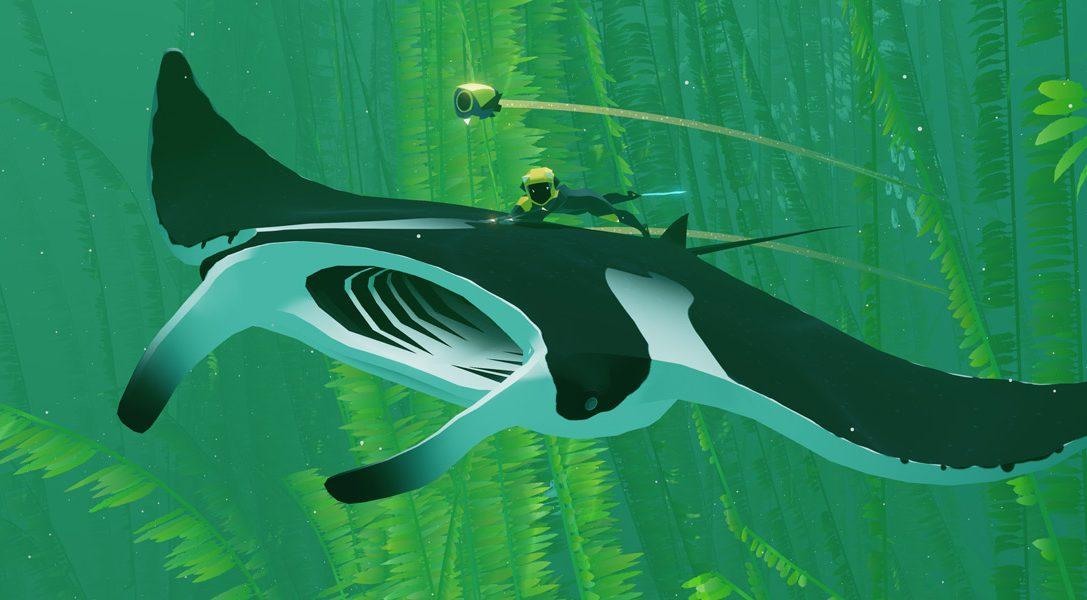 Le jeu d'aventure ABZÛ, un monde océanique luxuriant et mystérieux à explorer sur PS4