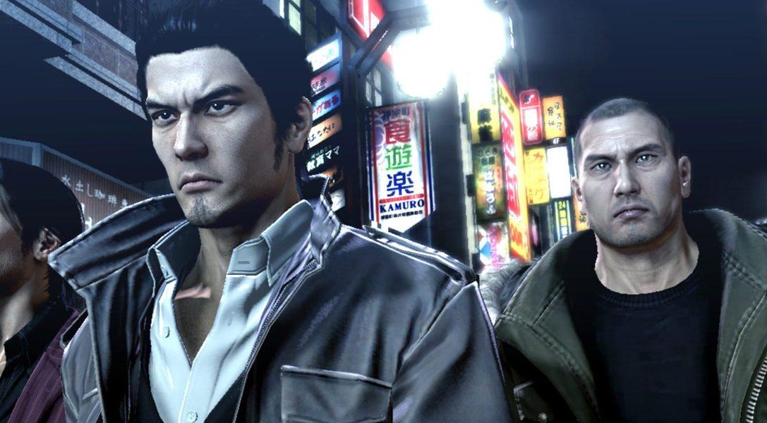 Nouvelle vidéo des coulisses du développement de Yakuza 5