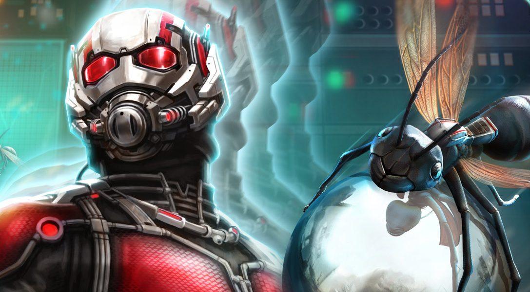 La table Ant-Man de Marvel arrive sur Zen Pinball 2 le mois prochain