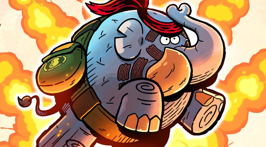 Tembo The Badass Elephant arrive sur PS4 demain, ne manquez pas la bande-annonce de lancement