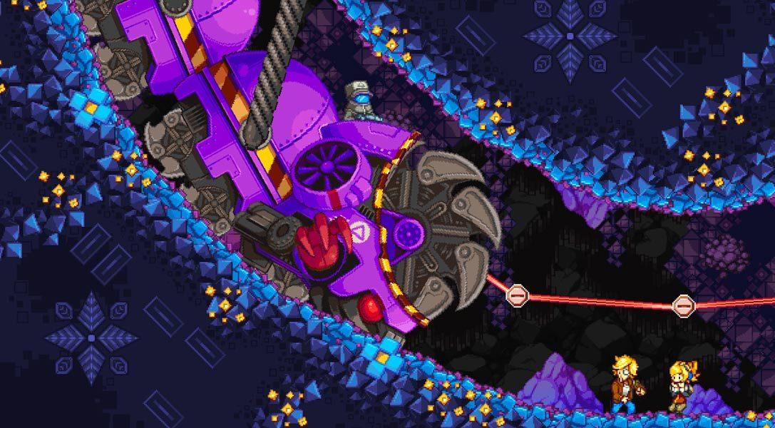 L'ambitieux jeu de plates-formes Iconoclasts arrive sur PS4 et PS Vita.