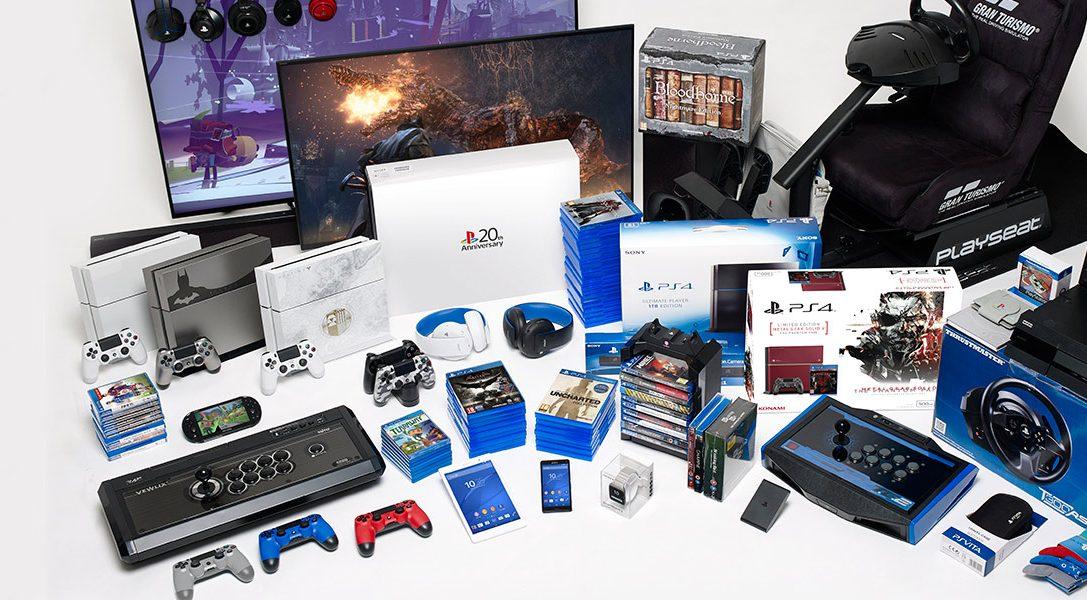 Gagnez la Totale… Remportez une configuration de jeu PS4 d'une valeur de plus de 14 000 €