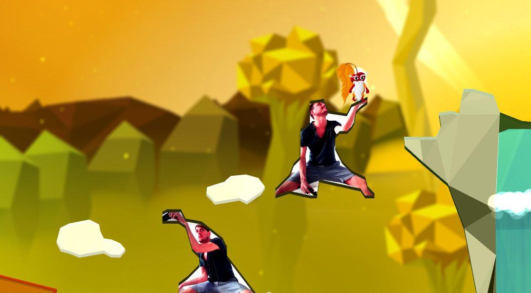 Commander Cherry's Puzzled Journey, le jeu de plateformes complètement fou pour PlayStation Camera, sort aujourd'hui