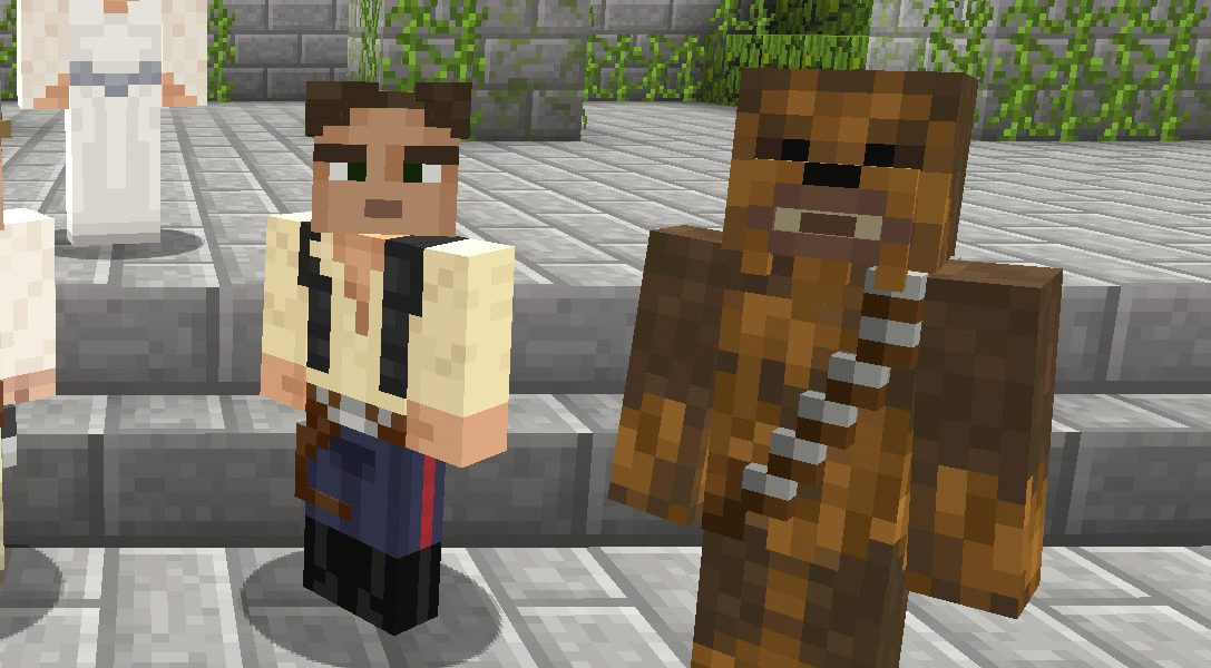 Retrouvez des packs de skins Star Wars dans Minecraft dès aujourd'hui !