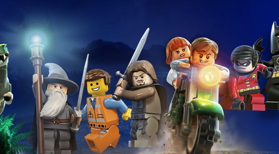 Nouvelles réductions sur le PlayStation Store : LEGO dinosaurs, Heroes, et plus encore…
