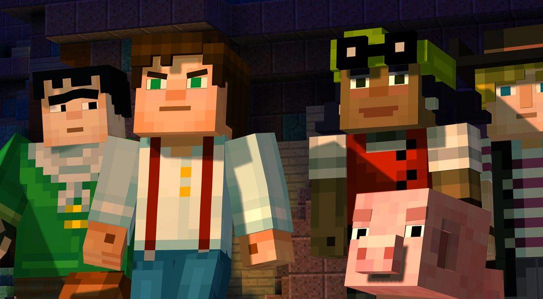 Minecraft: Story Mode arrive sur PS4 et PS3 le mois prochain