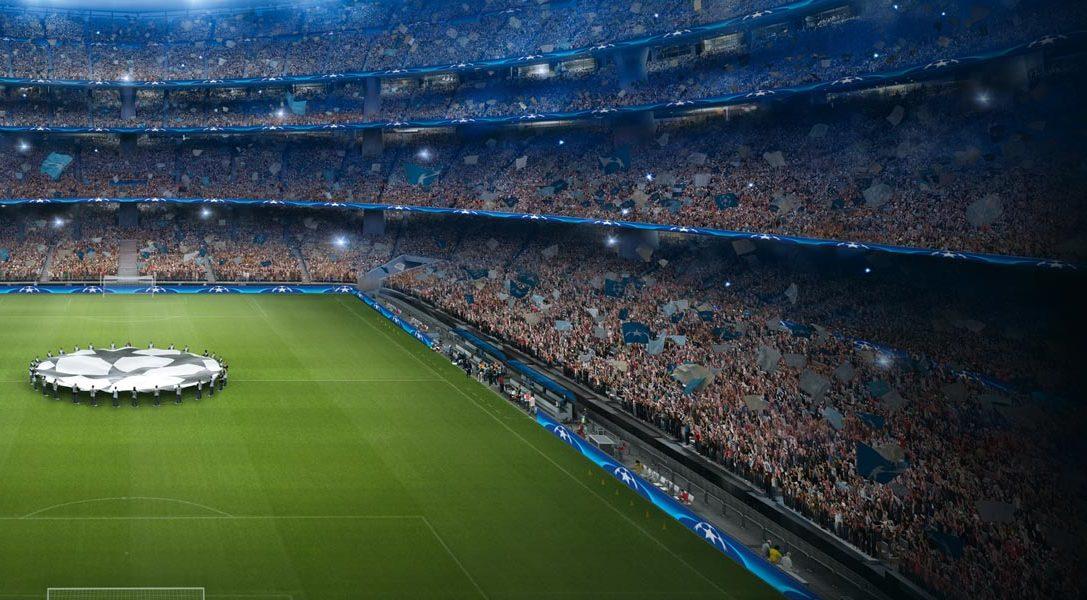 L'application UEFA Champions League PlayStation F.C. arrive aujourd'hui sur PS4