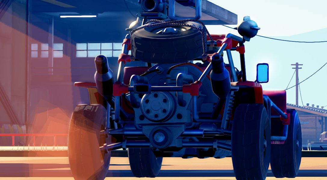 Le jeu de combat de voitures Hardware: Rivals annoncé sur PS4