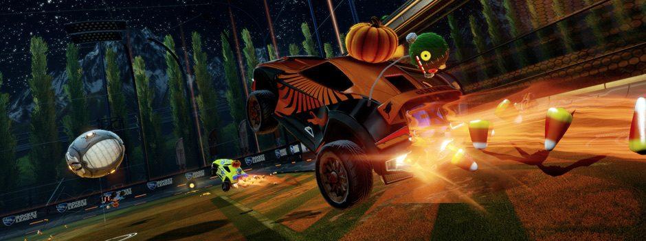 Rocket League reçoit son lot de contenu téléchargeable d'Halloween ce mois-ci